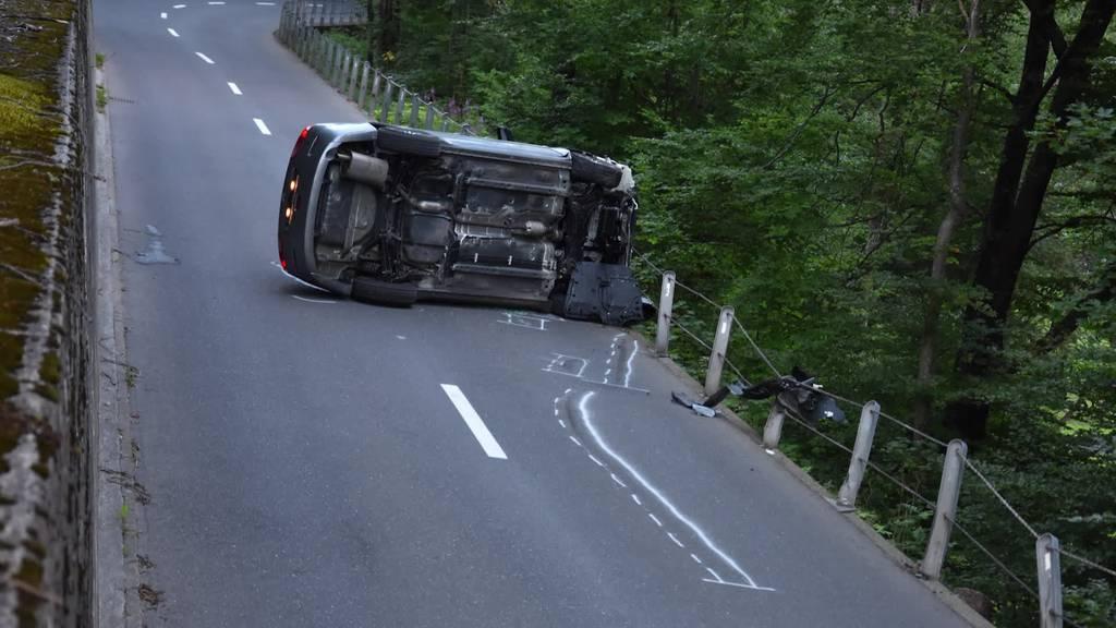 Kurznachrichten: Verletzte nach Unfällen in der Ostschweiz