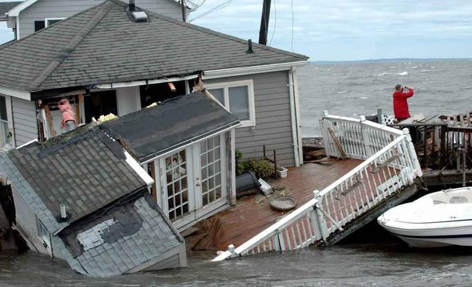 Ein Strandhaus in Fairfield in Conneticut