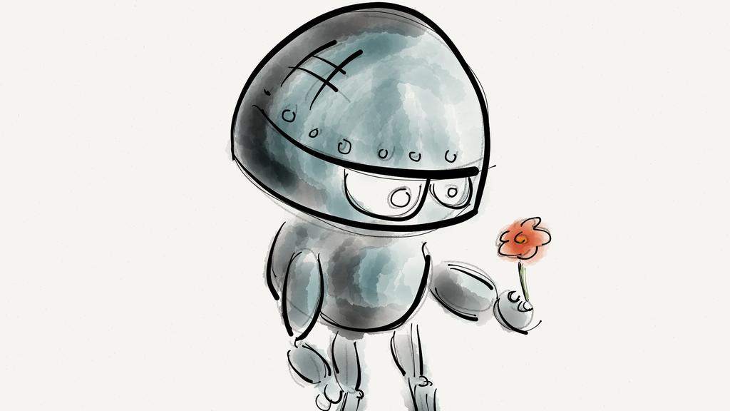 Roboter werden emotional – und neugierig wie Babys