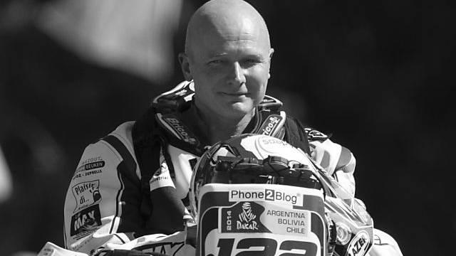 Eric Palante bei der Rallye Dakar tödlich verunglückt.