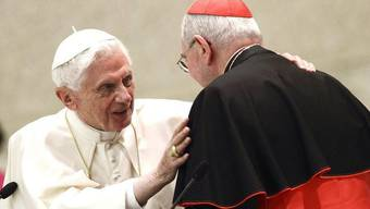 Für Papst Benedikt XVI. heisst es, Abschied nehmen (Archiv)