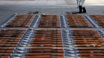 China tritt dem Uno-Vertrag über Waffenhandel bei. (Archivbild)