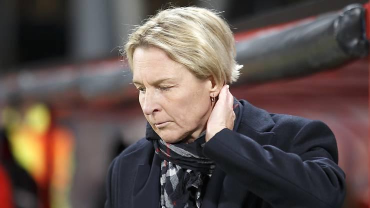 Die Schweizer Nationaltrainerin Martina Voss-Tecklenburg und ihre Mannschaft brauchen ein sportliches Wunder, um sich doch noch für die WM zu qualifizieren