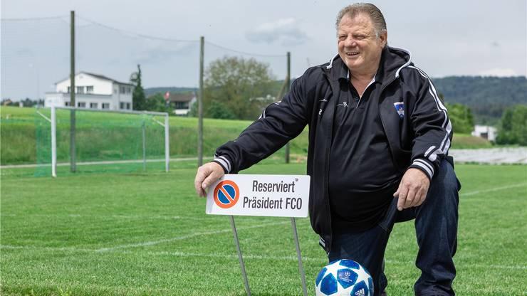 Beat Dünki gibt das Traineramt beim FC Othmarsingen nach 35 Jahren ab.