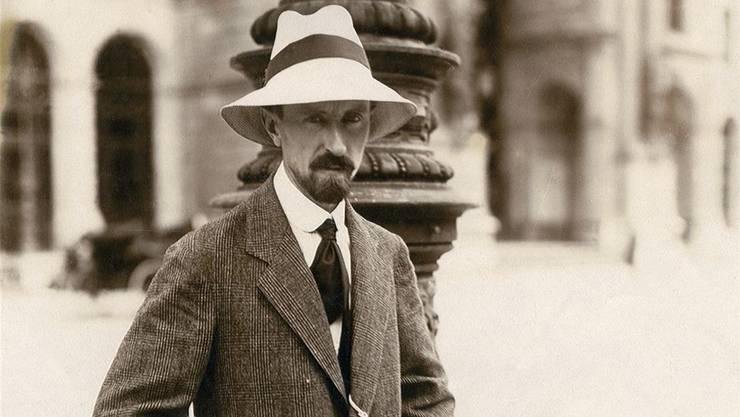 Carl Burckhardt in Florenz, April 1922.
