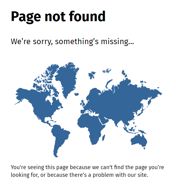 Page not found _ NZ Government