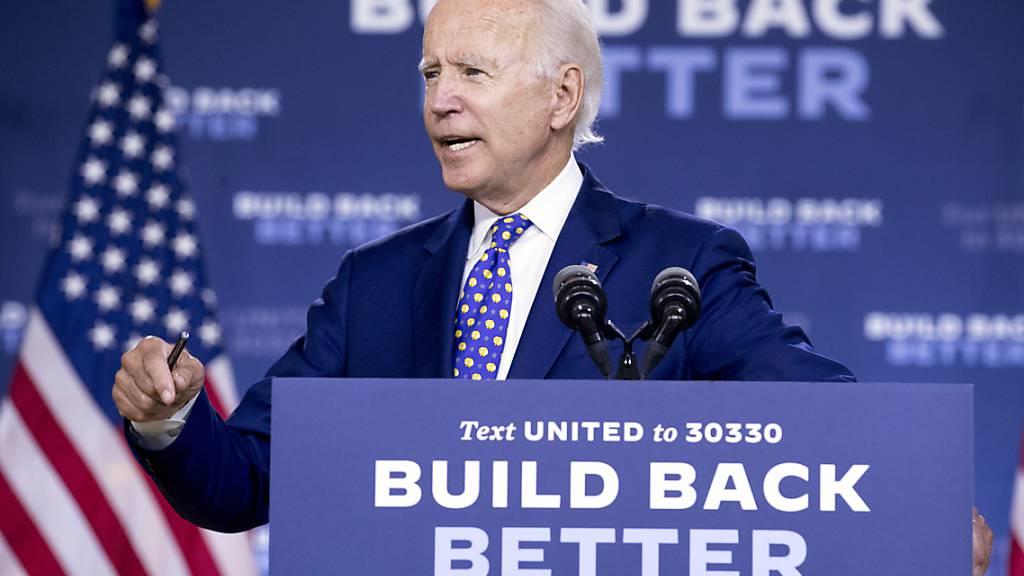 Biden plant Milliarden für bessere Chancen für Minderheiten