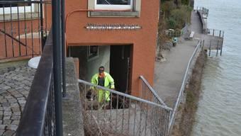 Für die Laufenburger Acht soll auch die Treppe beim «Hähnle» in Badisch-Laufenburg optimiert werden. Winfried Dietsche