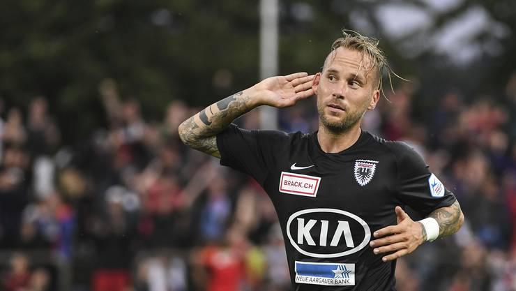 FCA-Spielmacher Markus Neumayr war die Stimmung um den Verein in den vergangenen Wochen zu negativ.