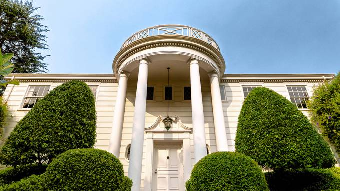 Die Villa wurde in den 90ern durch die Sitcom «Der Prinz von Bel-Air» bekannt.