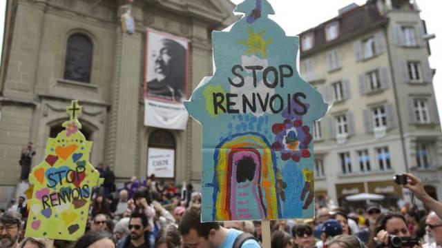 500 Personen demonstrierten in Lausanne