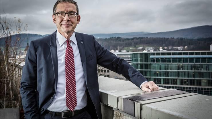 Regierungsrat Urs Hofmann wurde vom GE-Konzernchef persönlich informiert über die Abbaupläne.
