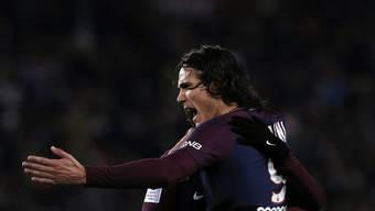 Mit 15 Toren der beste Topskorer der Top-5-Ligen Europas: Edinson Cavani von Paris Saint-Germain