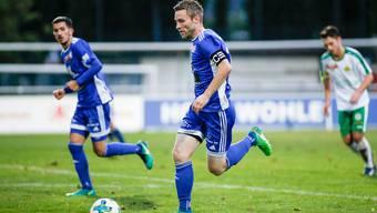 Captain Alain Schultz will mit seinem FC Wohlen in La Chaux-de-Fonds gewinnen.