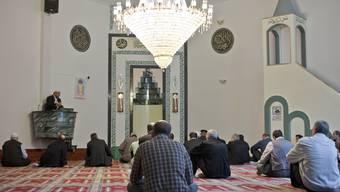 Freitagsgebet in einer Schweizer Moschee. (Archiv)