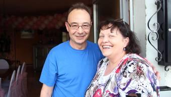 Mit einem lachenden Auge verlassen Priska und Jean Pierre Aeschbach die alte Chäsi Wittwil.