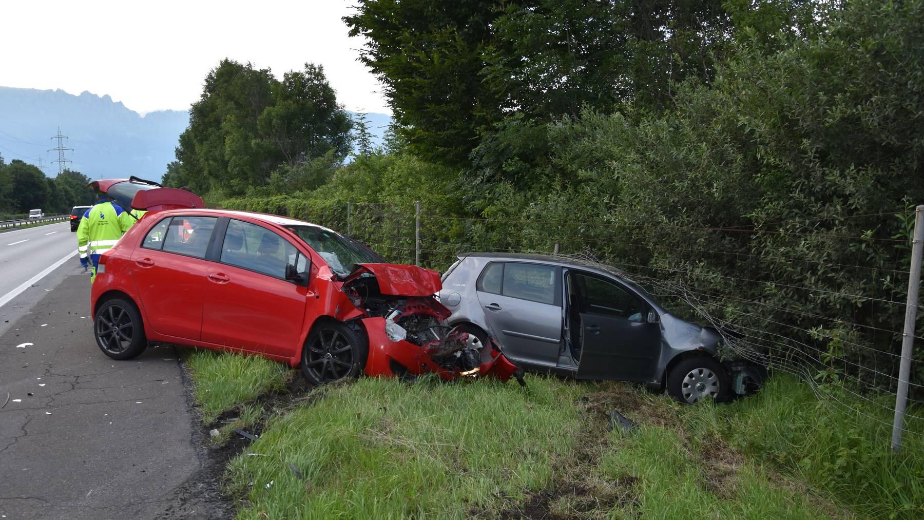 Auto Kracht In Abschlepp Kombination Fm1today