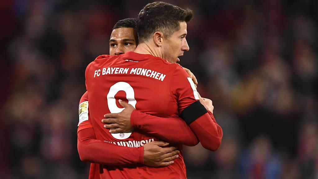 München schlägt Schlusslicht Paderborn dank Lewandowski