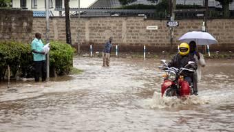 Überschwemmungen in Nairobi.