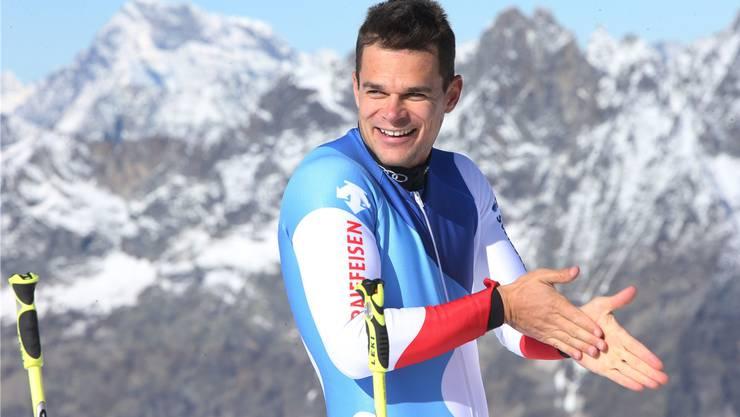 Patrick Küng: «Solange ich die Verletzung im Krafttraining spüre, werde ich nicht auf die Ski stehen.»