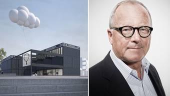 Stephan Schmidheiny unterstützt das Stapferhaus Lenzburg
