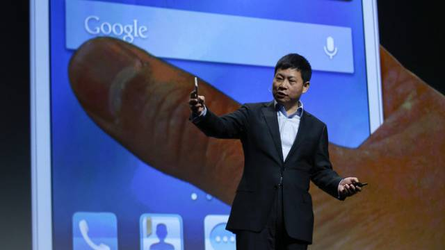 Richard Yu ist CEO der Huawei Consumer Business Group (Archiv)