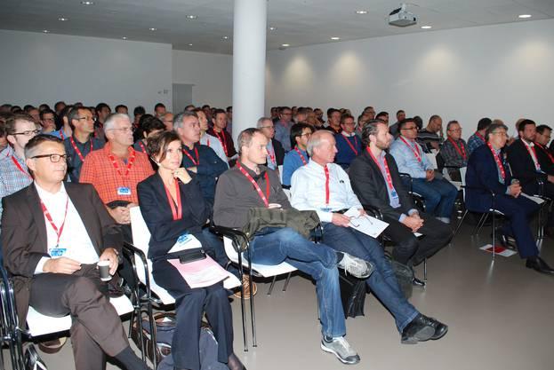 Gut besuchter Anlass im Hightech Zentrum Aargau.