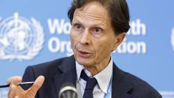 Die Bekämpfung des Zika-Virus erfordert weiterhin internationale Anstrengungen, wie der Vorsitzende des WHO-Notfallkomitees, David Heymann, am Freitagabend in Genf sagte. (Archivbild)