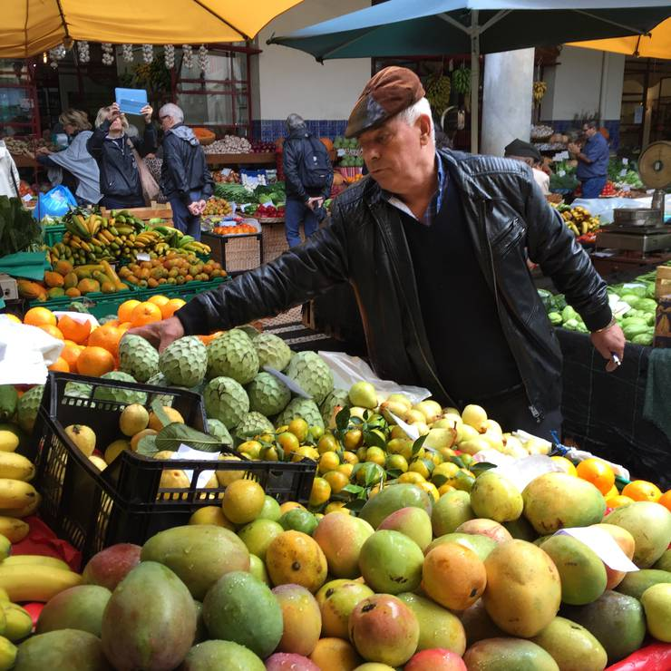 Mercado dos Lavradores in Funchal