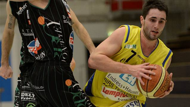 Joël Fuchs wurde zum besten Spieler seines Teams gewählt.