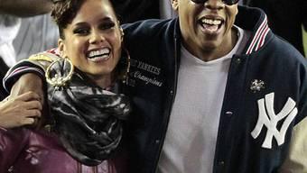 Alicia Keys und Jay-Z geniessen gemeinsamen Auftritt