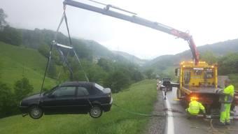 Verkehrsunfall Densbüren (10. Mai 2018)