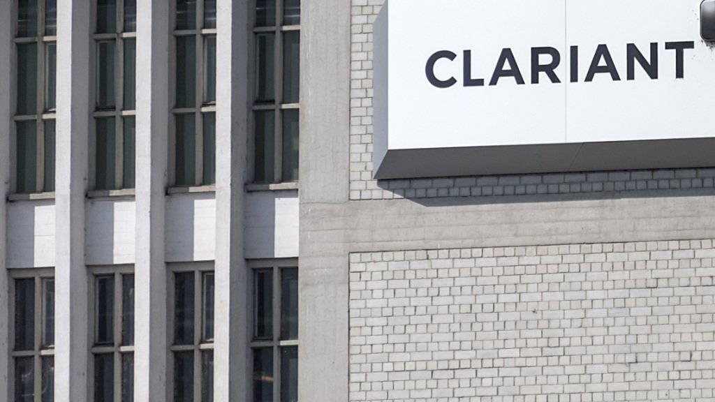 Weiter im Aufwind: Clariant steigerte in den den ersten neun Monaten 2017 sowohl den Umsatz wie den Betriebsgewinn um 10 Prozent. (Archivbild)