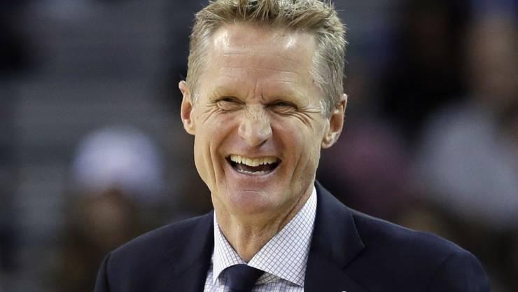 Der NBA-Trainer des Jahres: Steve Kerr von Titelverteidiger Golden State Warriors