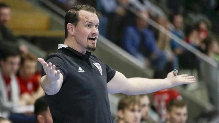 Der HSC-Coach war froh, dass seine Mannschaft souverän verteidigte.