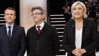 Frankreich TV Debatte