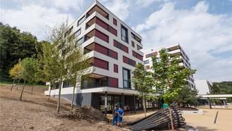 Die beiden Neubauten mit den 52 neuen Wohnungen des Alterszentrums Kehl kurz vor der Einweihung. Christian Doppler/cosmepics