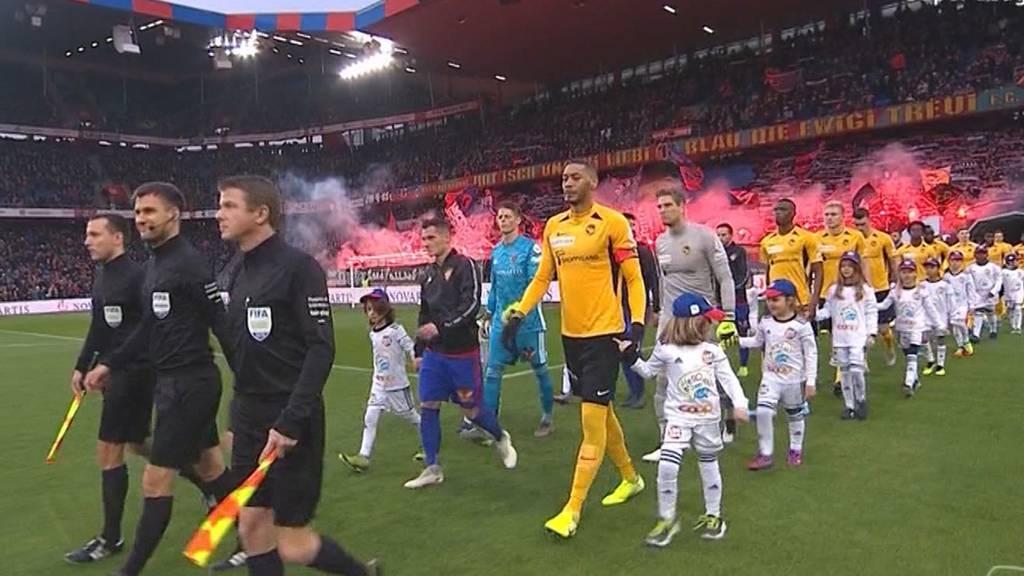 YB unterliegt Basel im Spitzenkampf der Super League