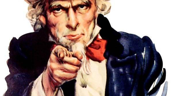"""""""Uncle Sam"""" versetzt seine Bürger in der Schweiz derzeit in Unruhe. (Eigenbild: BZ)"""