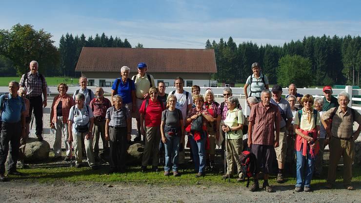 """Senioren-Wandergruppe """"Chumm und mach mit"""" Urdorf (September 2014)"""