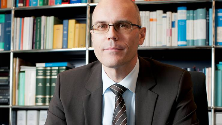 Dieter Egloff möchte Bankratspräsident der AKB werden. Alex Spichale