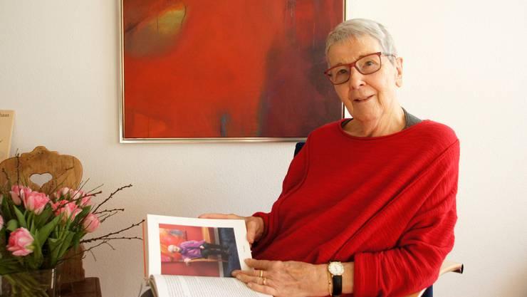 Sie lebt ein abwechslungsreiches Leben: Karin Rüegg aus Oberrohrdorf.