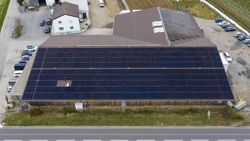 Solarpanellandschaft um Grösse von 310 Fussballfeldern gewachsen