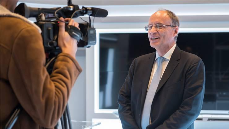 Damien Piller ist seit 23 Jahren Präsident der Migros-Genossenschaft Neuchâtel-Fribourg.