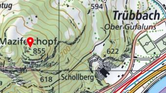 Unterhalb des Maziferchopfs bei Trübbach SG sind zwei Wanderer im steilen Gelände abgestürzt und schwer verletzt worden.