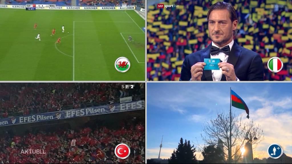 Diese Hürden erwarten die Schweizer Nati an der EURO 2020