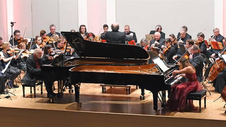 Das Stadtorchester mit Mozart-Klavierkonzert und van Beethovens 5. Sinfonie.