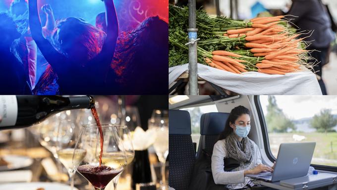 Welche Auflagen gelten eigentlich in Bars, Restaurants, auf Märkten und im öV?