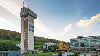 Gebaut wurde der Turm ursprünglich als Wasserreservoir. Nun steht fest: Das fast 60-jährige Wahrzeichen von Bad Zurzach wird nicht abgerissen.