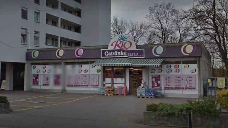 Der Getränkehandel Rio in Bremgarten.